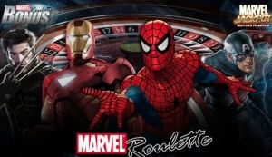 You can play Marvel Roulette in Bet365 casino