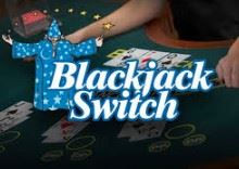 In a game of Blackjack switch, every player has the option to switch the top card