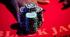 Avoid wagering more than half of your stack in a game of Blackjack
