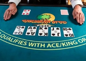 In Caribbean Stud poker you should pass if there isn't an Ace or King in your hand