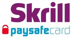 Skrill and Paysafe are other option for online casino payments
