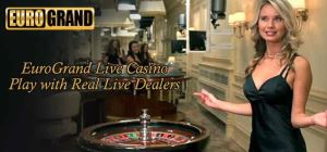 Eurogrand's customers have the possibility to play live casino games