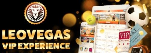 Player can earn extra rewards with the Vip program at Leo Vegas casino