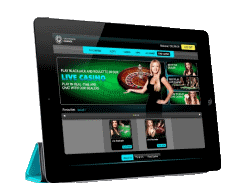 Live dealer games at mobile casinos