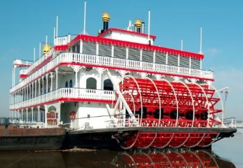 Riverboat casinos exist since the Golden Rush