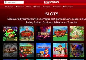 There are five different slot games categories at Roxy Palace casino