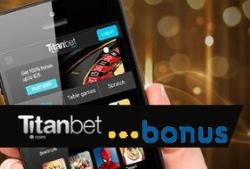 Customers can get a 100% welcome bonus by making their first deposit at Titanbet