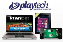 The Live dealer games at Titanbet casino are provided by Playtech